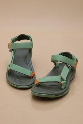 Ayax Kadın Haki Trekking Sandalet