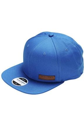 Jack & Jones Jjac Basic Color Snapback Şapka - Princess Blue