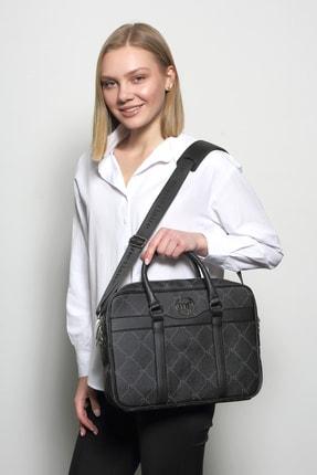 Marie Claire Kadın Siyah Laptop Tablet Çanta Gwen Mc212113249