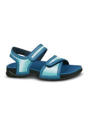Ceyo Erkek Çocuk Mavi Bello-5 Cırtlı Sandalet