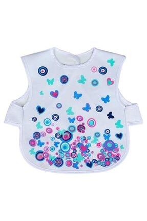 Sevi Bebe Lüks Giymeli Önlük Art-19 Nazar Boncuğu