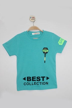 FYK KİDS Best Collectıon Baskılı Erkek T-shirt