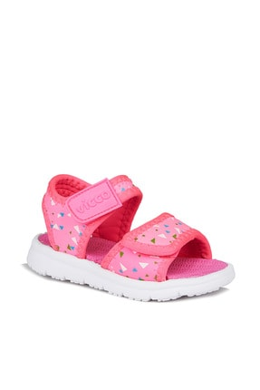 Vicco Limbo Kız Bebe Fuşya Sandalet