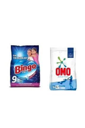 Bingo Toz Deterjan Renkliler Için 9kg+ Beyazlar Için 6 Kg