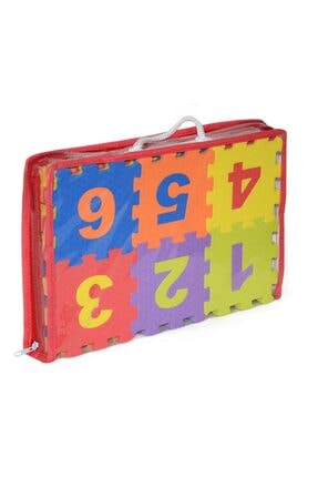Akar Oyuncak Harf Rakam Puzzle 12cm 36 Parça Yer Karosu