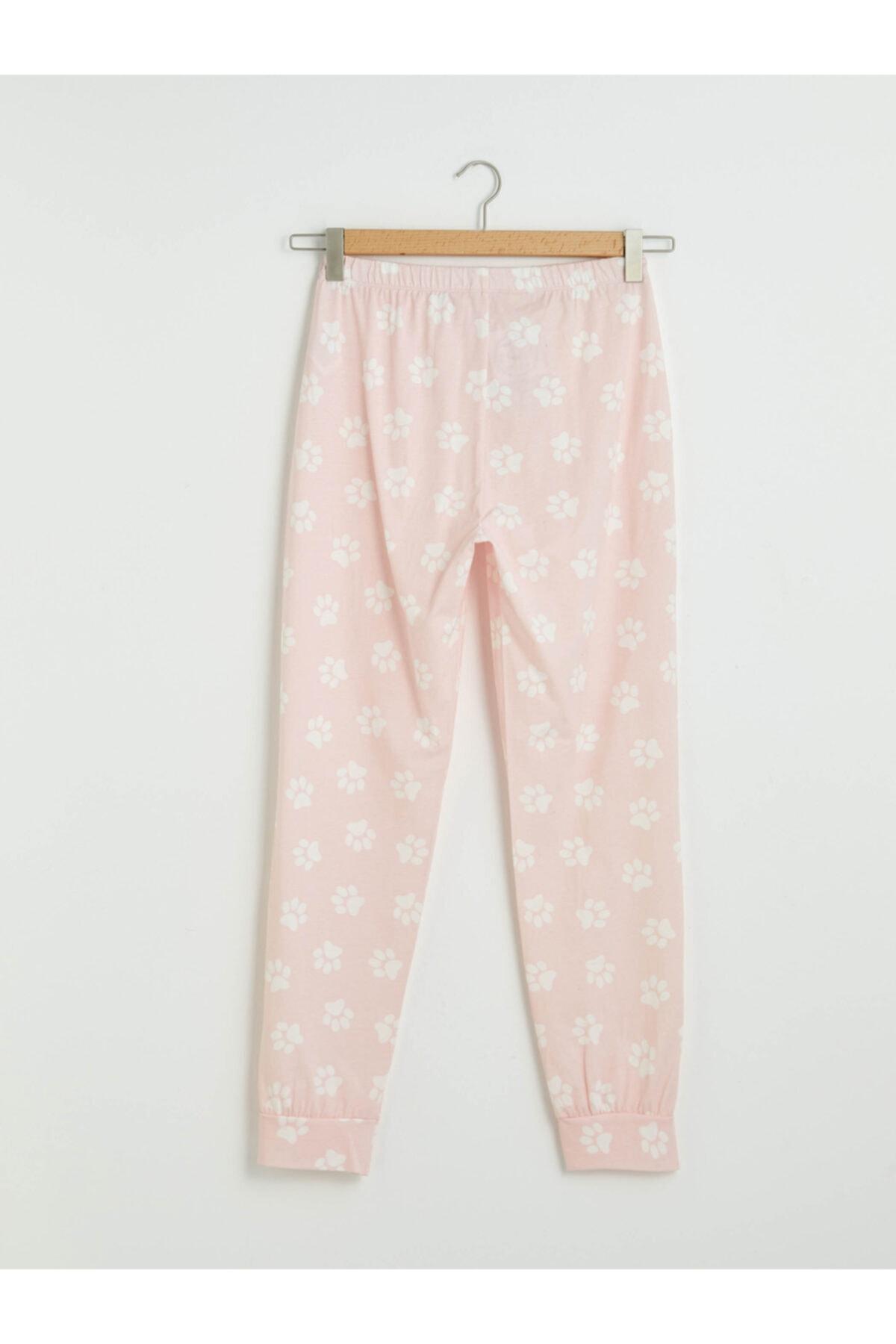 LC Waikiki Kadın Pembe Pijama Altı 2