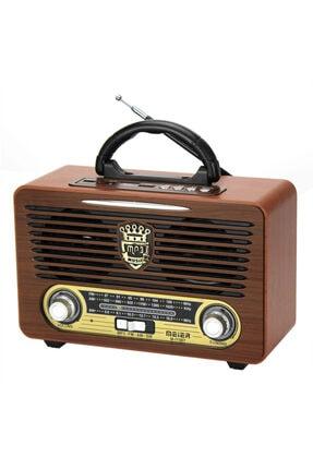 ARIANA Meier 115-bt Ahşap Görünümlü Fm Radyolu Bluetooth Mp3 Müzik Çalar Koyu Ahşap Meıer-115bt