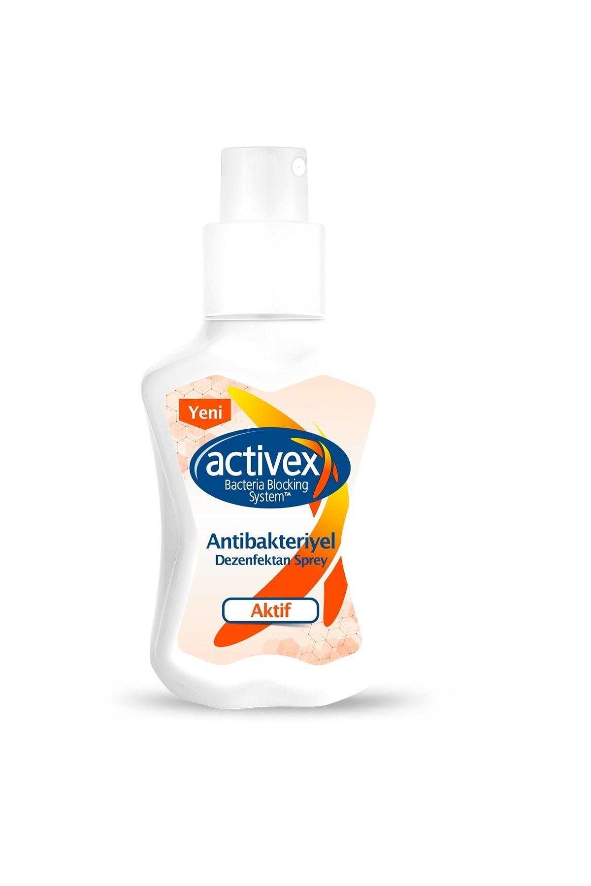 Activex Antibakteriyel Dezenfektan Sprey 100 ml