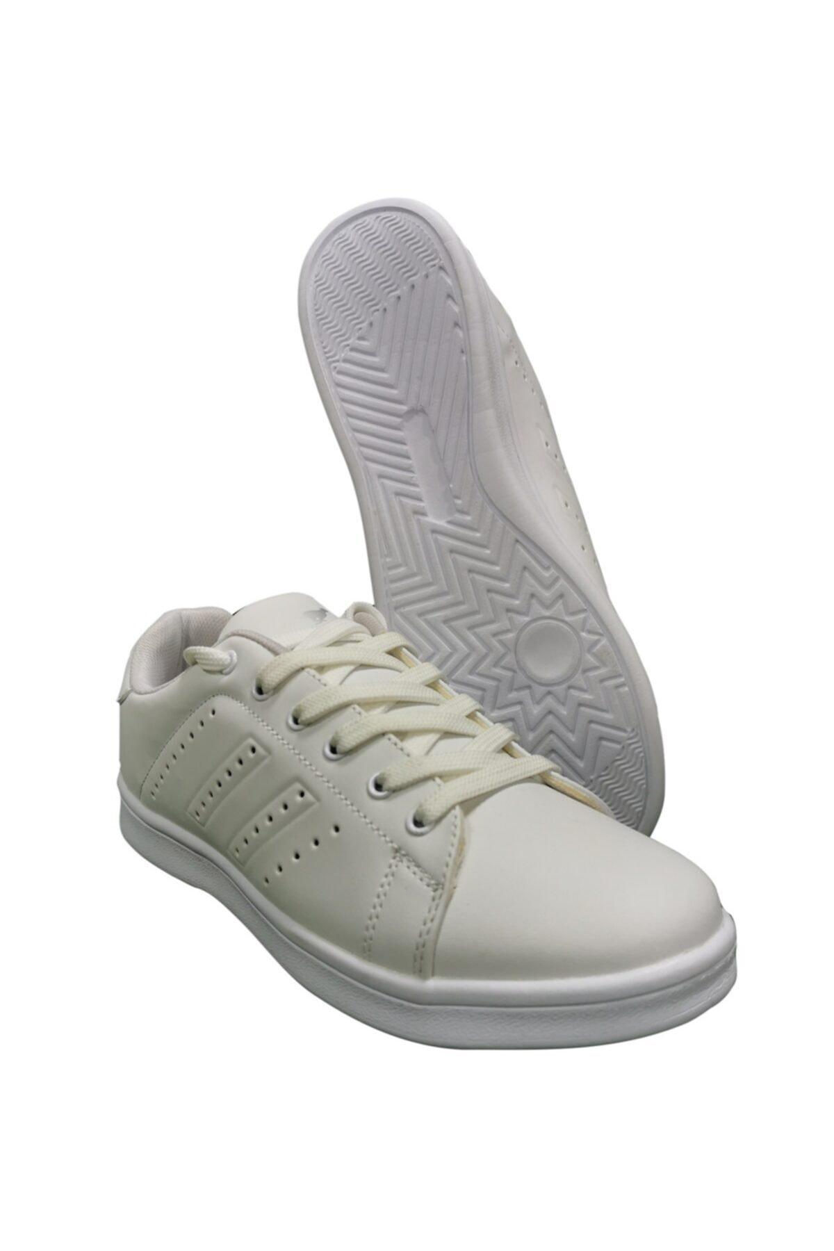 Cheta Kadın  Beyaz Günlük Spor Ayakkabı Cht002 2