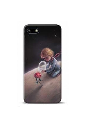 Ren Geyik Huawei Honor 7s Uyumlu Küçük Prens Tasarımlı Telefon Kılıfı