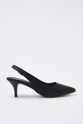 Hotiç Siyah Kadın Klasik Topuklu Ayakkabı 01AYH205370A100