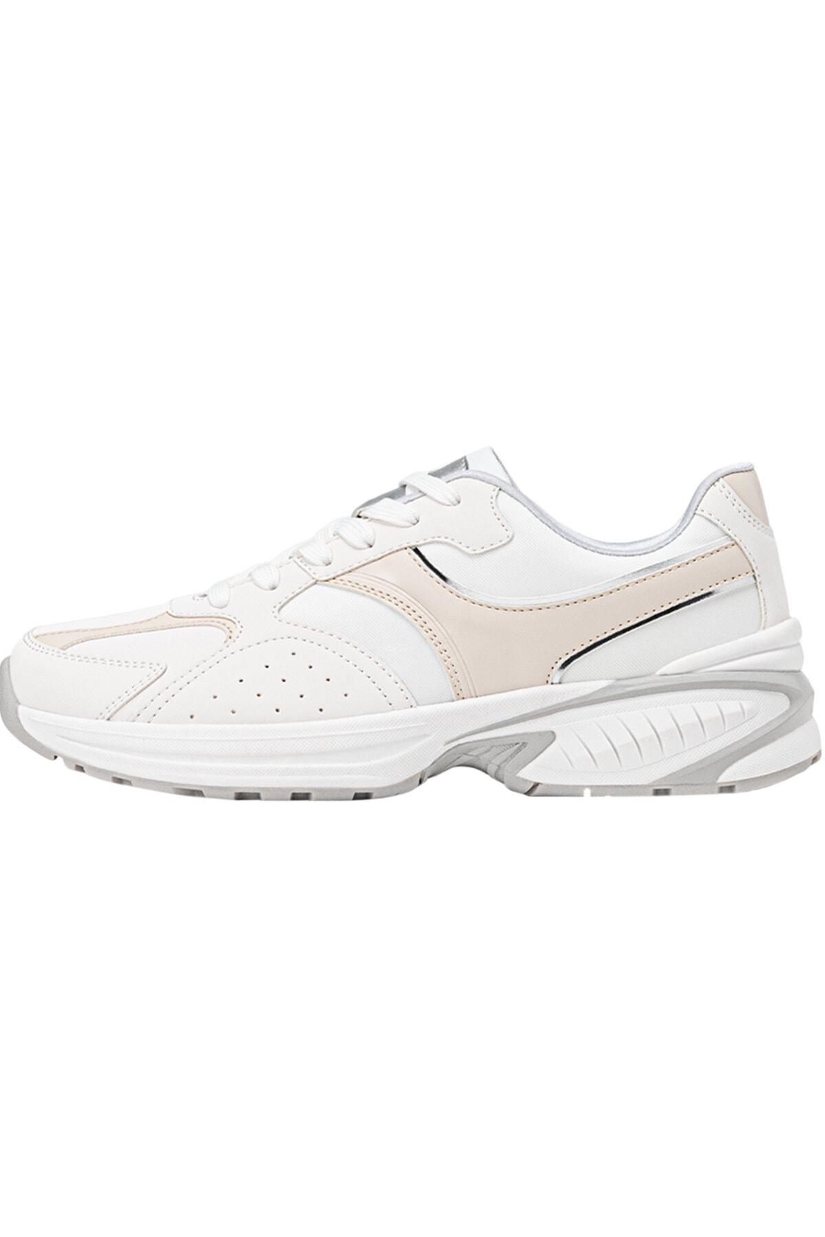 Stradivarius Kadın Beyaz Kontrast Spor Ayakkabı 19003770
