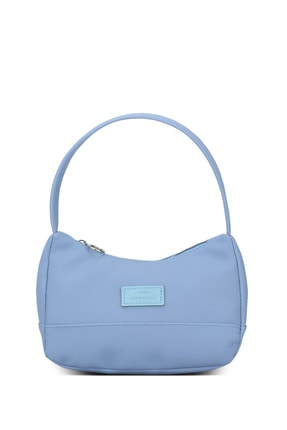 Housebags Kadın Mavi Baguette Çanta 197