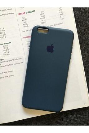 SUPPO Iphone 6 Plus Uyumlu Logolu Lansman Içi Kadife Silikon Kılıf