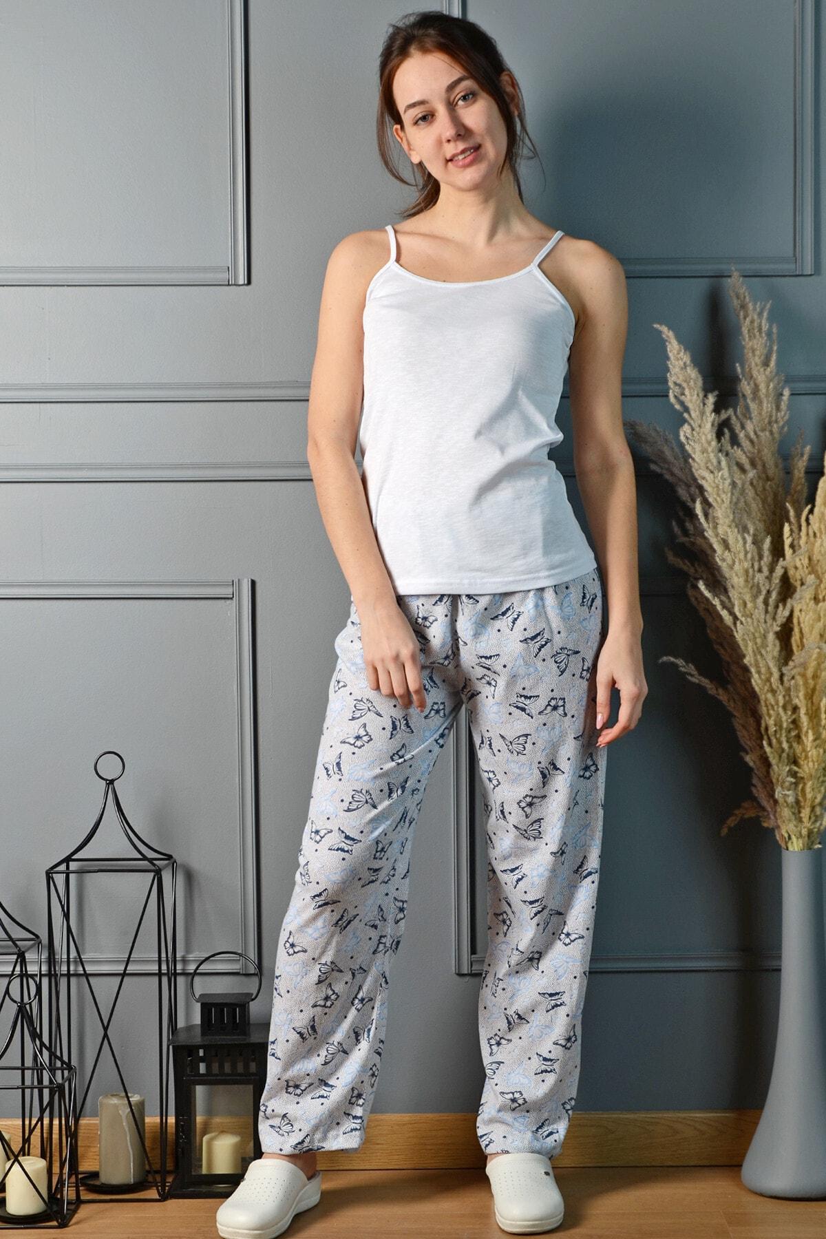 PİNKMARK Kadın Renkli Pijama Altı Pmplt24195 1