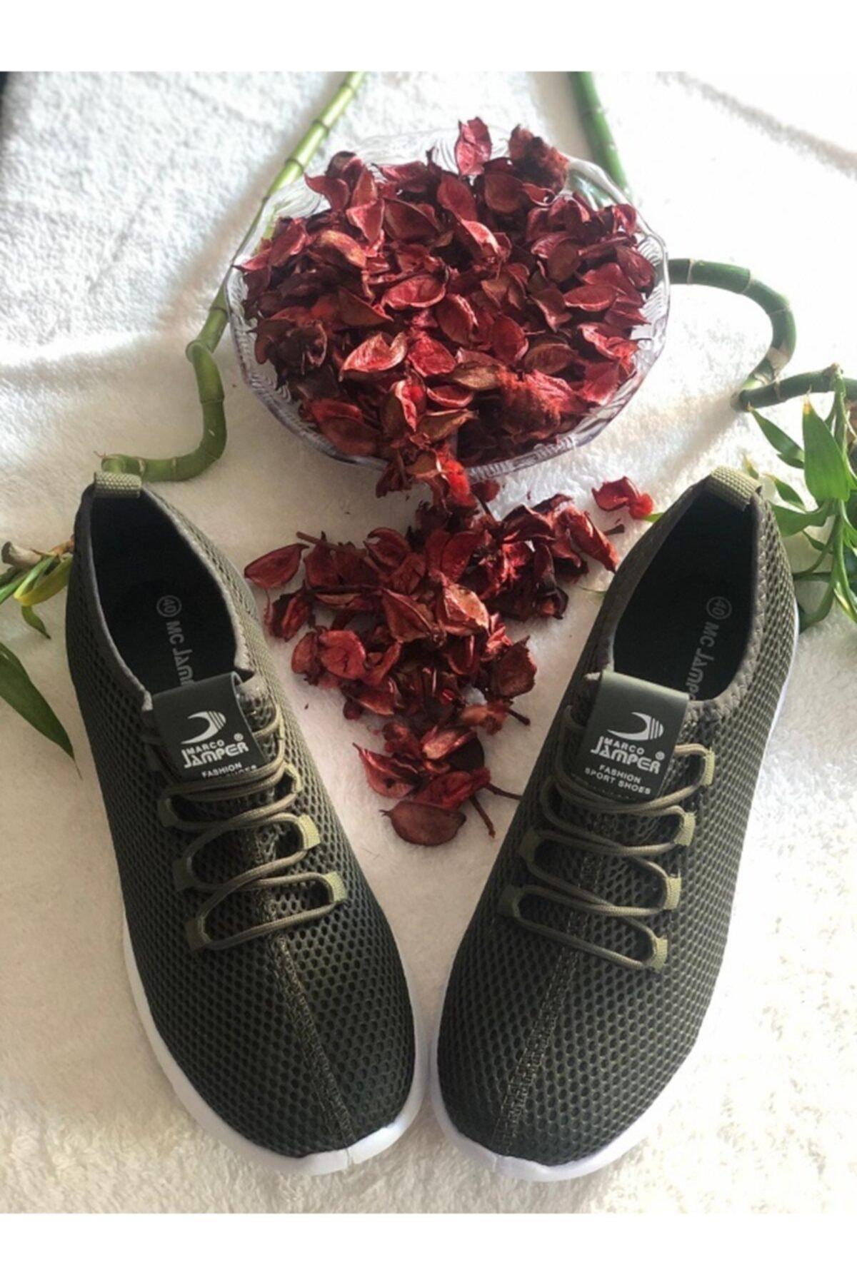Marco Jamper Erkek Yeşil Spor Ayakkabı 1