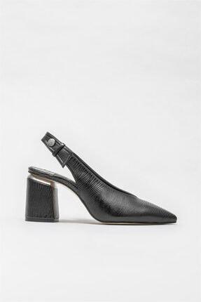 Elle Shoes Kadın Siyah Topuklu Ayakkabı