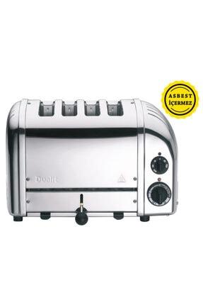 Dualit 47030 Classic 4 Hazneli Ekmek Kızartma Çelik