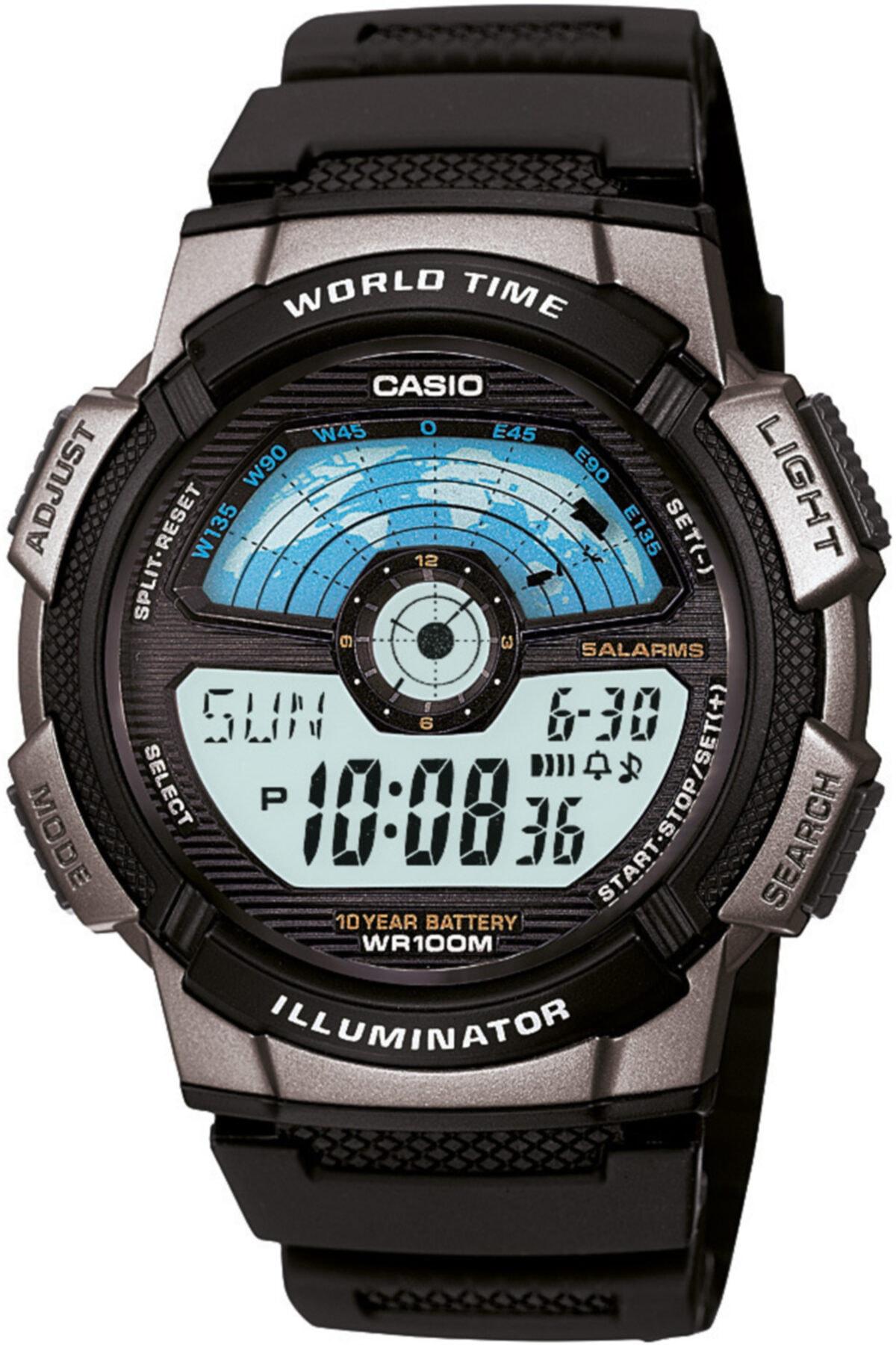 Casio Ae-1100w-1avdf Erkek Kol Saati - 10 Yıl Pil Ömrü 1