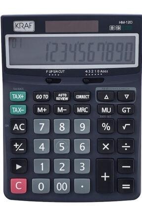 Kraft Kraf Hesap Makinesi Masaüstü 12 Hane Tax Hm-120