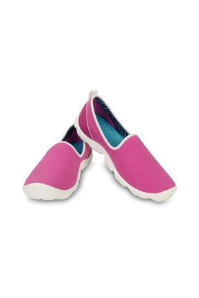 Crocs DUET BUSY DAY SKIMMER VIB Mor Kadın Sneaker Ayakkabı 100528956
