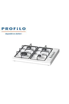 Profilo OB30P2B80D Beyaz Set Üstü Ocak