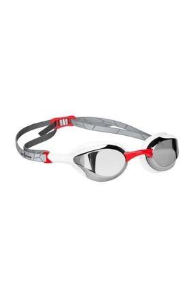 Mad Wave Gri Kırmızı Aynalı Yüzme Yarış Gözlüğü