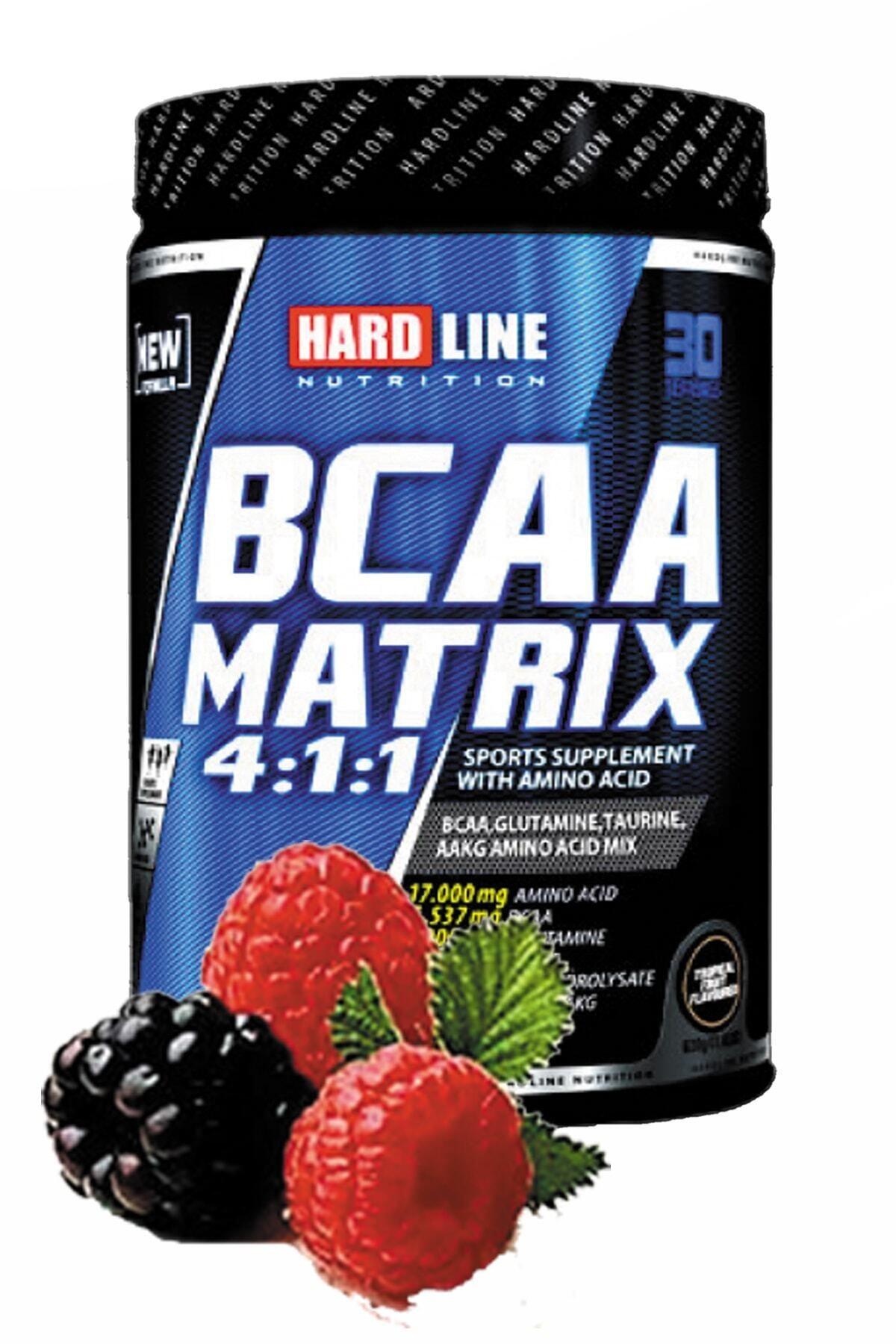 Hardline Bcaa Matrix Böğürtlen Aroma 630gr Bcaa Aminoasit Kas Geliştirici Kuvvet Artırıcı 1