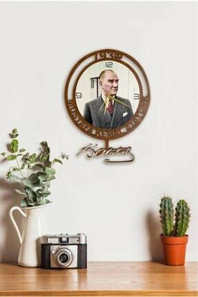 Sokaktaki Hediyem M.kemal Atatürk Sallanır Duvar Saati