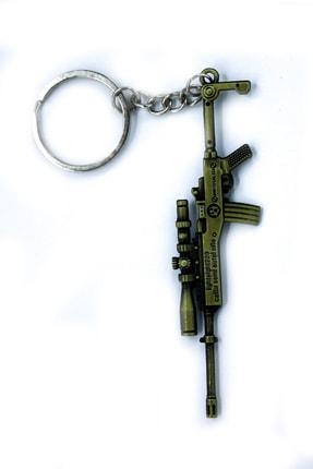 SHAKA Pubg Silah Figürlü Gold Anahtarlık Mini 14
