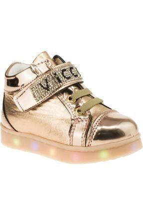 Vicco 220.V.150 BEBE IŞIKLI Altın Kız Çocuk Kalın Tabanlı Sneaker 100530297