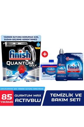 Finish Quantum Max 85 Bulaşık Deterjanı + Temizlik Ve Bakım Seti
