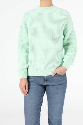 Colin's KADIN Regular Fit Yeşil Kadın Kazak CL1052944