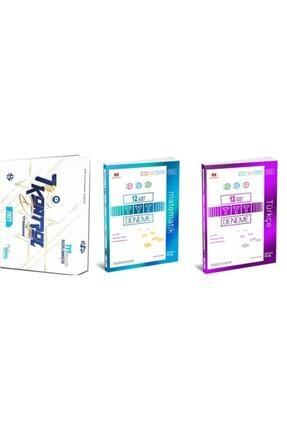 Üç Dört Beş Yayıncılık Bilgi Sarmal Tyt Genel Kontrol Denemesi + 345 Tyt Matematik Türkçe Deneme Seti 2021