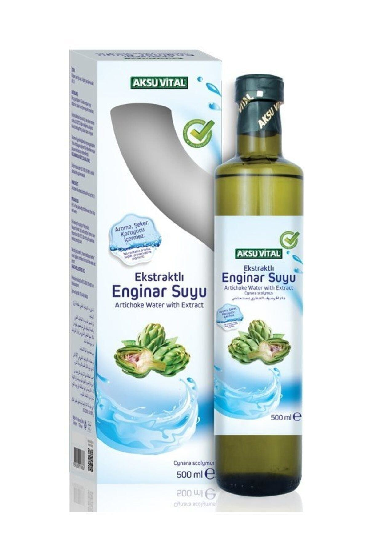 Aksu Vital Ekstraktlı Enginar Suyu 500 ml 1