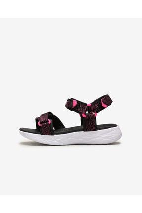 SKECHERS ON-THE-GO 600- LIL RADIANT Büyük Kız Çocuk Siyah Sandalet