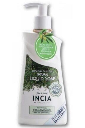 Incia Zeytinyağlı Doğal Sıvı Sabun 250 ml