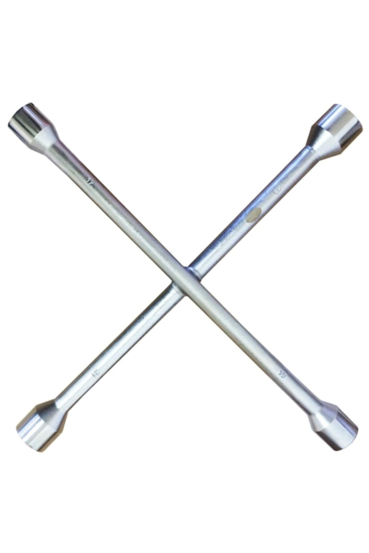ModaCar Çelik 4 Uçlu Bijon Anahtar 422677 1