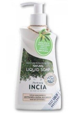 Incia Yoğun Nemlendiricili Zeytinyağlı Doğal Sıvı Sabun 250ml