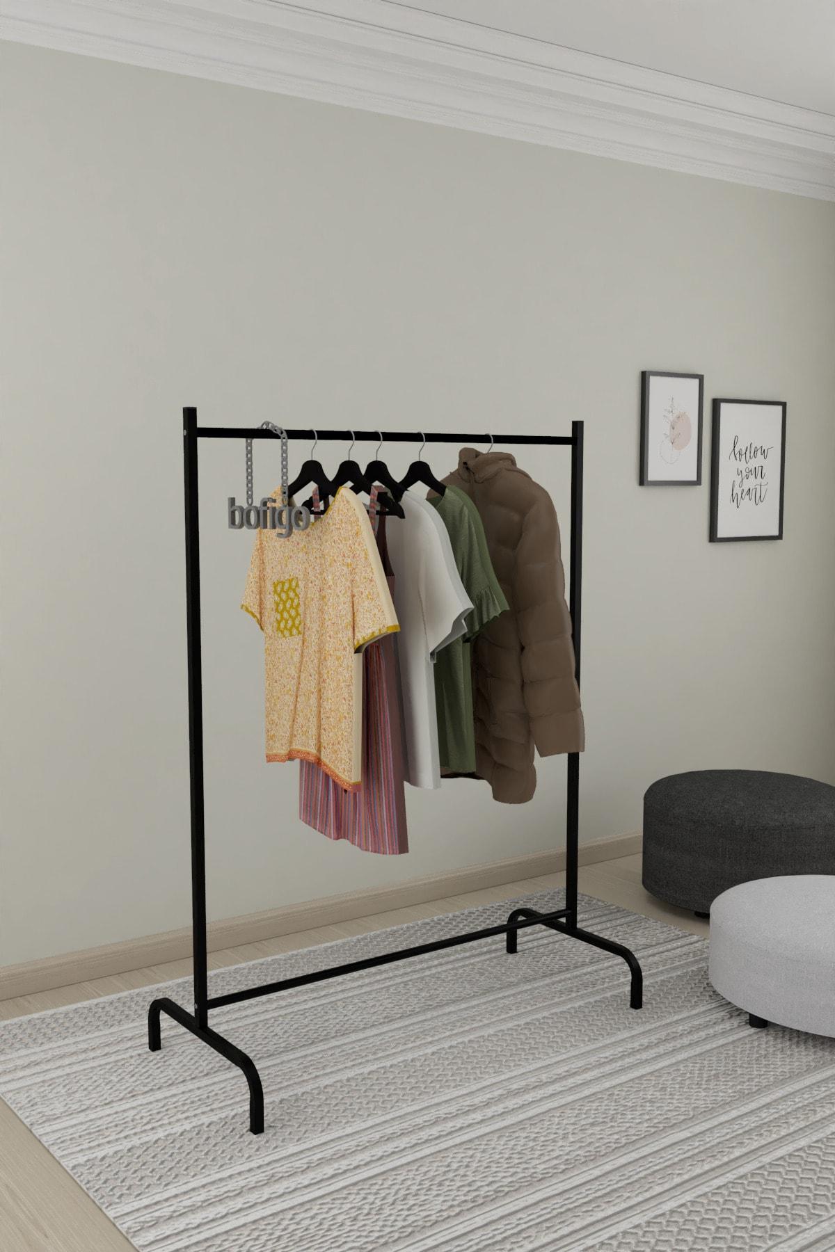 Bofigo Konfeksiyon Askısı Ayaklı Askılık Elbise Askılığı 2