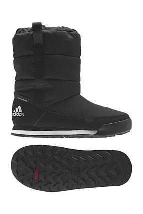 adidas Siyah Kız Bot & Bootie Cw Snowpitch Slip-on K