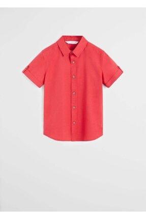 MANGO Kids Kısa Kollu Gömlek 67060521