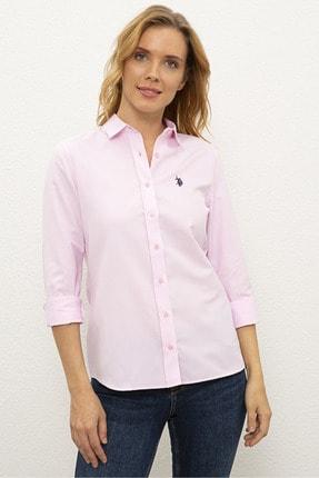 U.S. Polo Assn. Pembe Kadın Dokuma Gömlek G082Gl004.000.1261820
