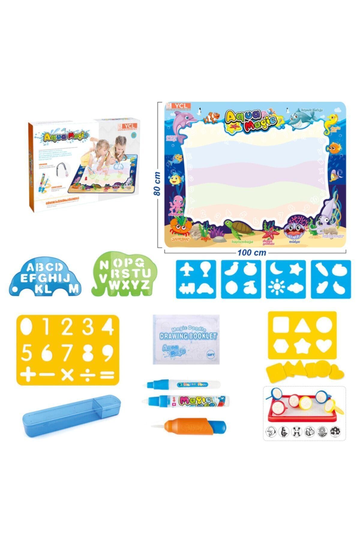 YCL Sihirli Halı, Su Büyüsü, Su Ile Renklı Boyama Halısı, Eğitici Oyuncak 2