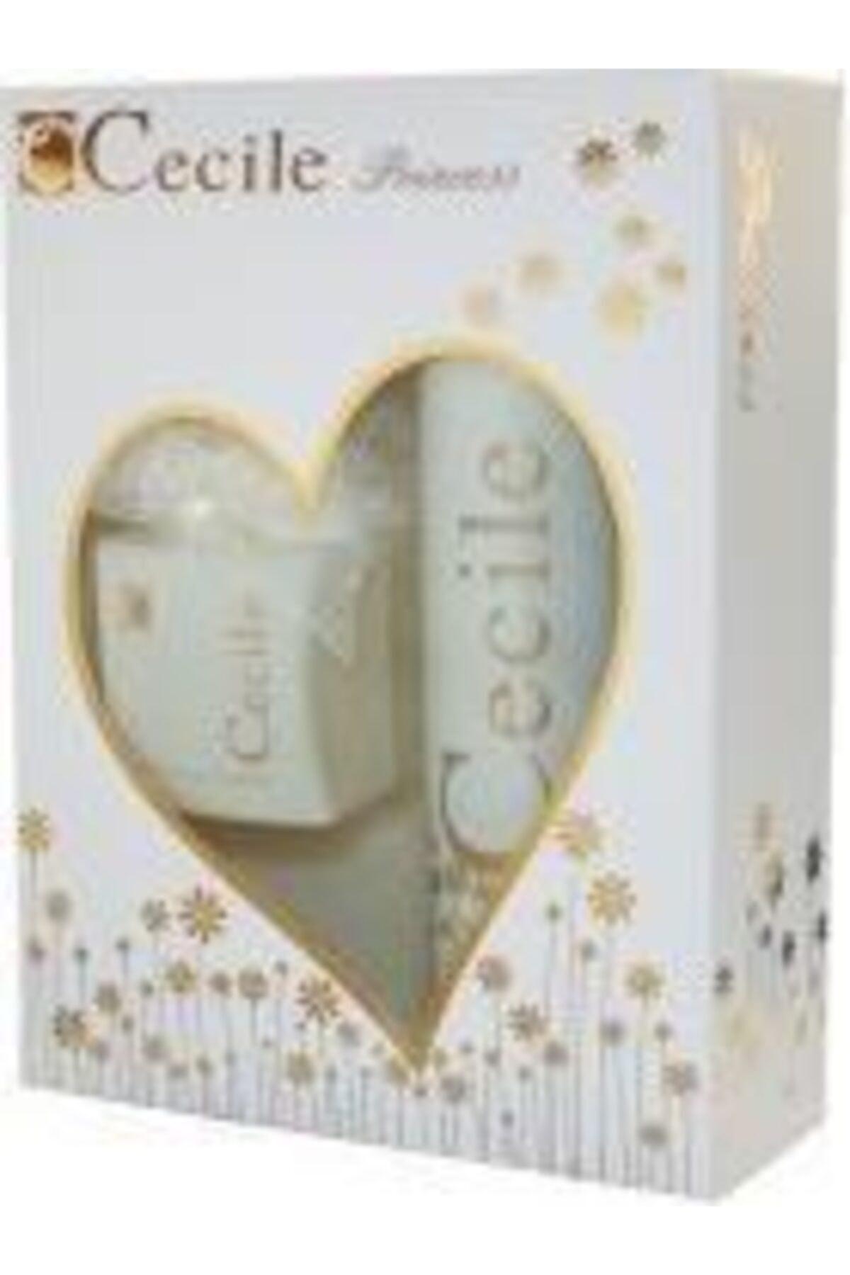 Cecile Princess Edt 100 ml +Deo 150 ml Kadın Parfümü Seti 8698438201322 1