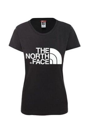 THE NORTH FACE Kadın Siyah Easy Kısa Kollu Tişört