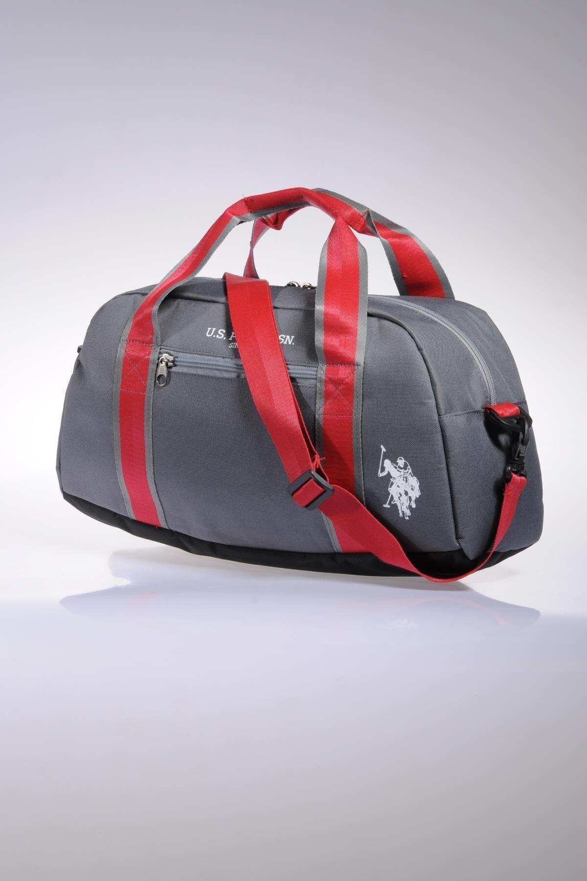 U.S. Polo Assn. Plduf6974 Gri Unısex El Valizi Ve Spor Çantası 1
