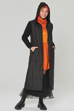 Armine Trend Kadın Siyah Renk Kapitone 20kt508
