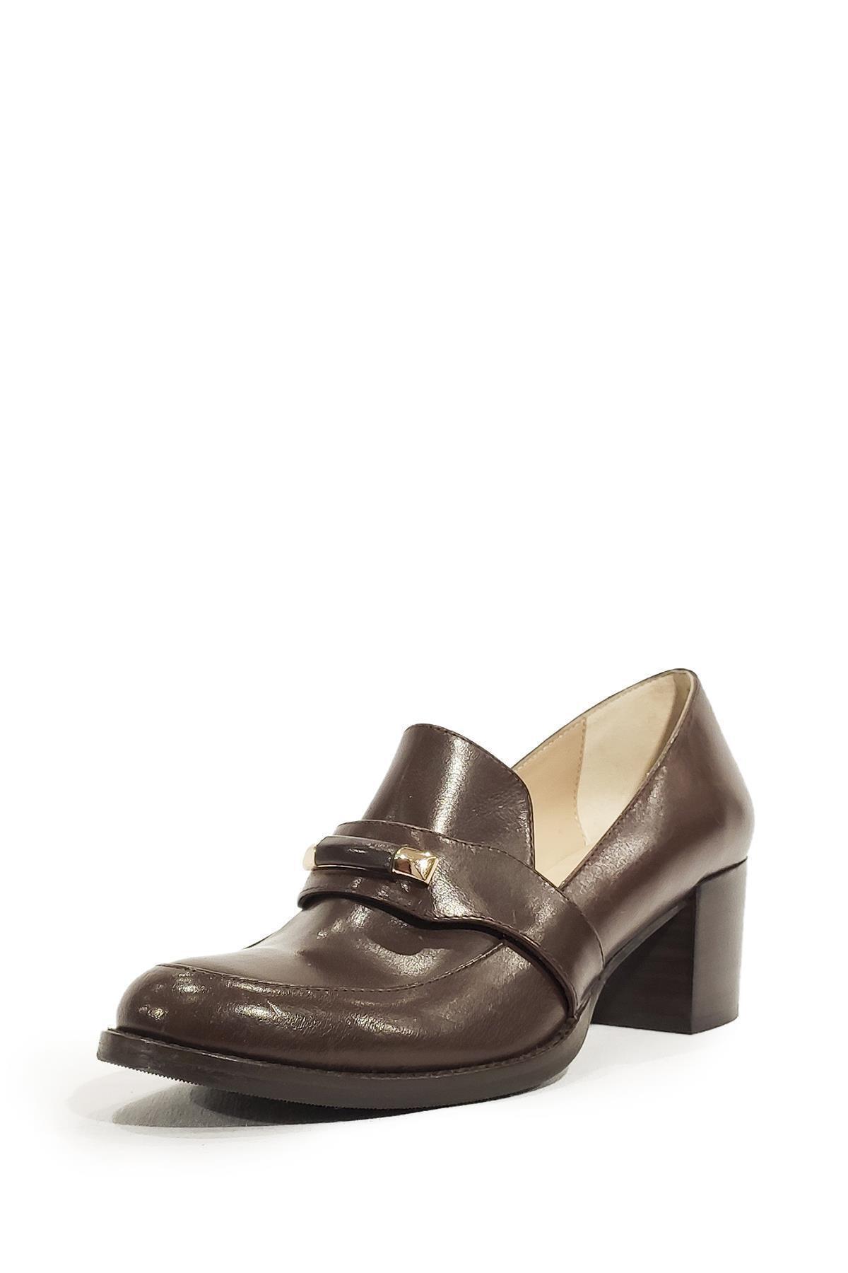 Nursace Hakiki Deri Klasik Ayakkabı Nsc19y-a05179 1