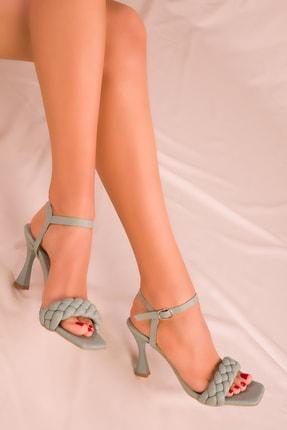 SOHO Mınt Yeşil Kadın Klasik Topuklu Ayakkabı 15863